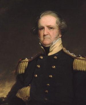 General Winfield Scott 1855 | Robert Walter Weir | Oil Painting