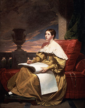 Susan Walker Morse 1836   Samuel F.B. Morse   Oil Painting