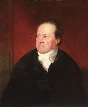 De Witt Clinton 1826   Samuel F.B Morse   Oil Painting