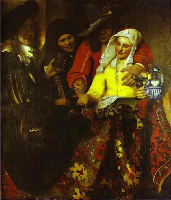 The Procuress 1656 | Jan Vermeer | Oil Painting