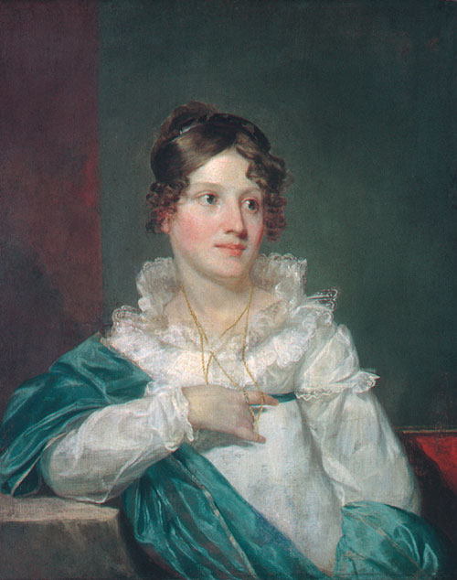 Mrs Daniel DeSaussure Bacot 1820   Samuel F.B Morse   Oil Painting