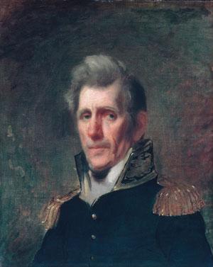 General Andrew Jackson 1819 | Samuel Lovett Waldo | Oil Painting