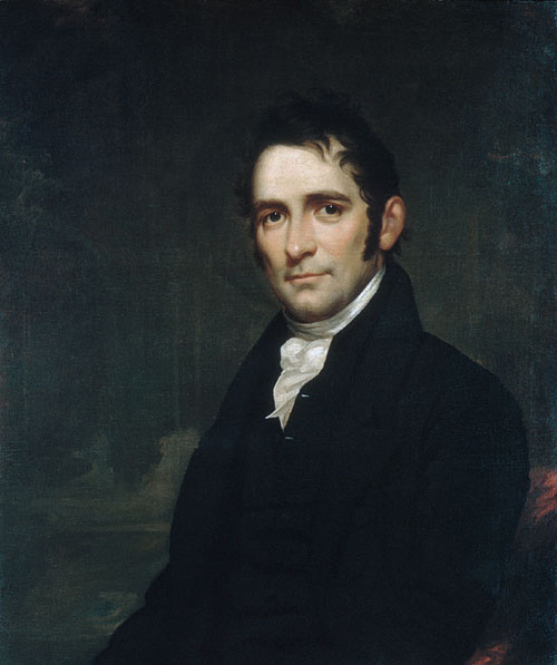 The Reverend John Brodhead Romeyn 1817 | Samuel Lovett Waldo | Oil Painting