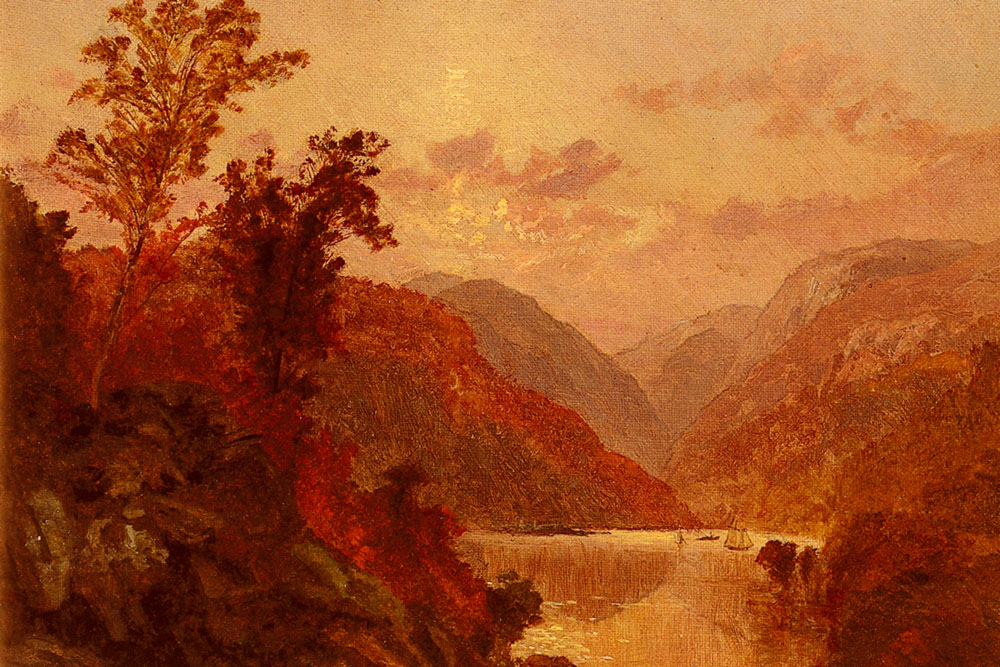 In The Highlands Of The Hudson | Jasper Francis Cropsey | Oil Painting