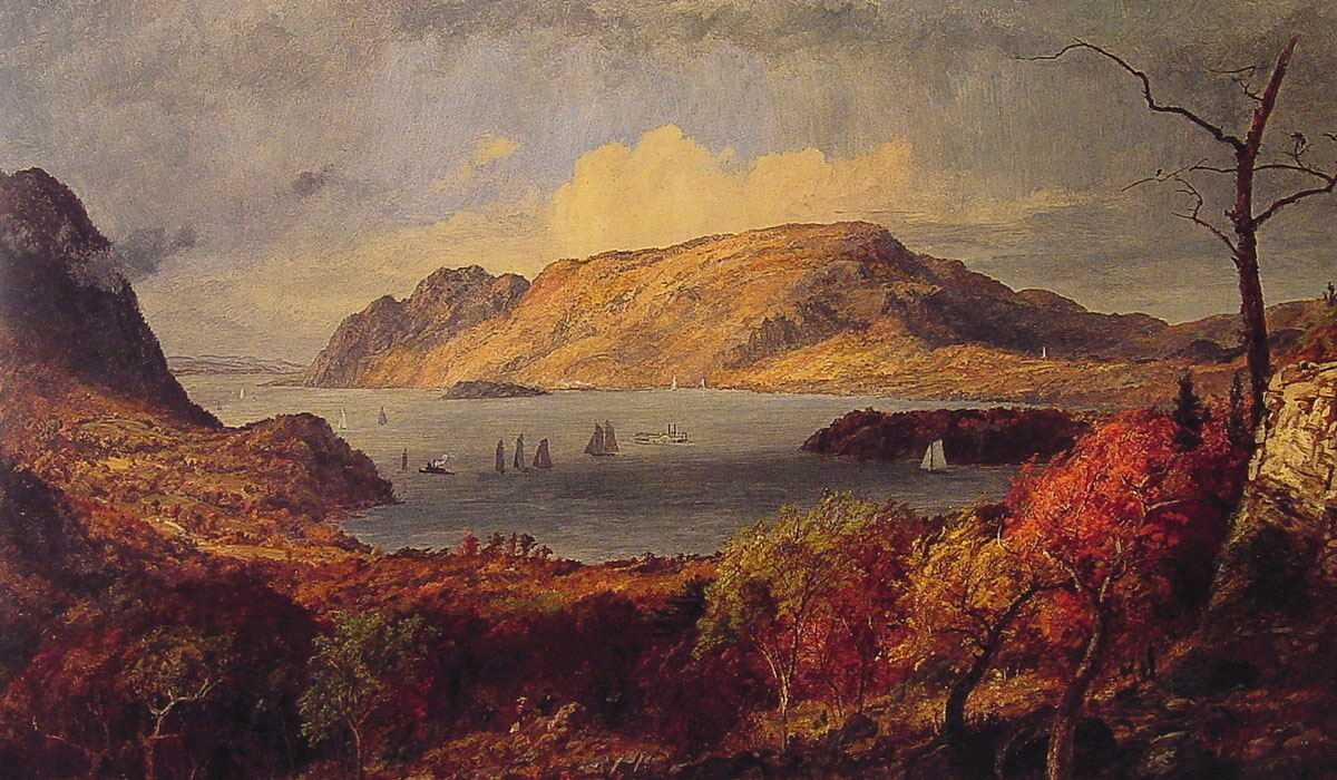 Gates of the Hudson | Jasper Francis Cropsey | Oil Painting