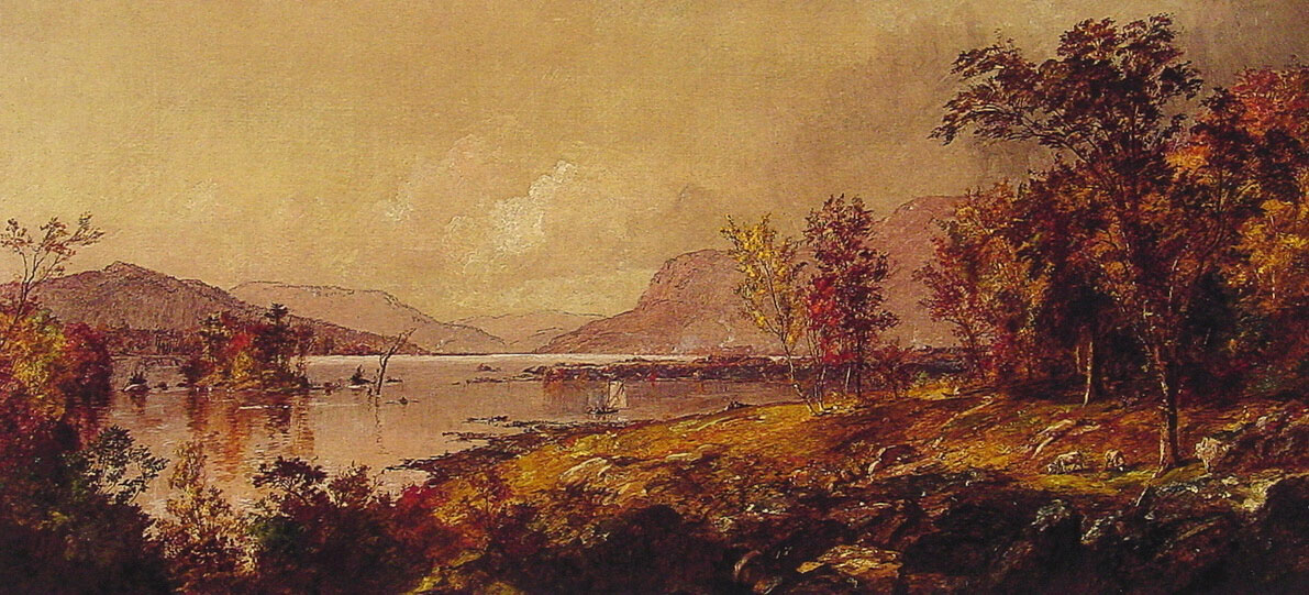 Greenwood Lake in September | Jasper Francis Cropsey | Oil Painting