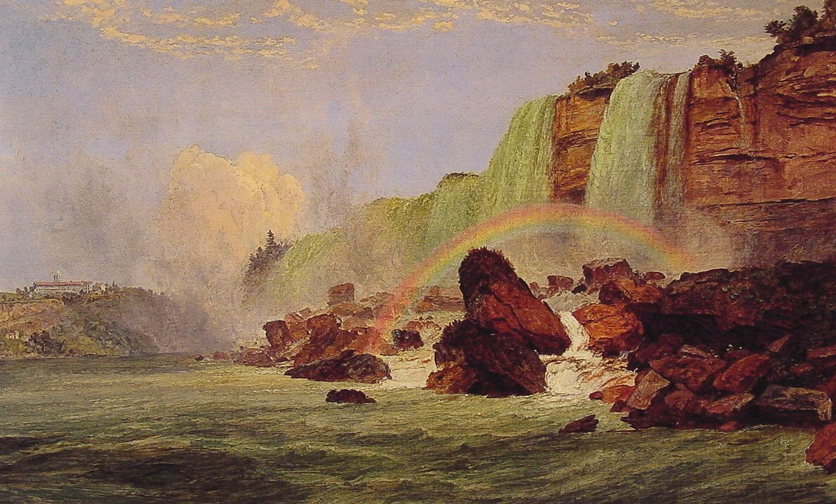 Niagara Falls with View of Clifton House | Jasper Francis Cropsey | Oil Painting