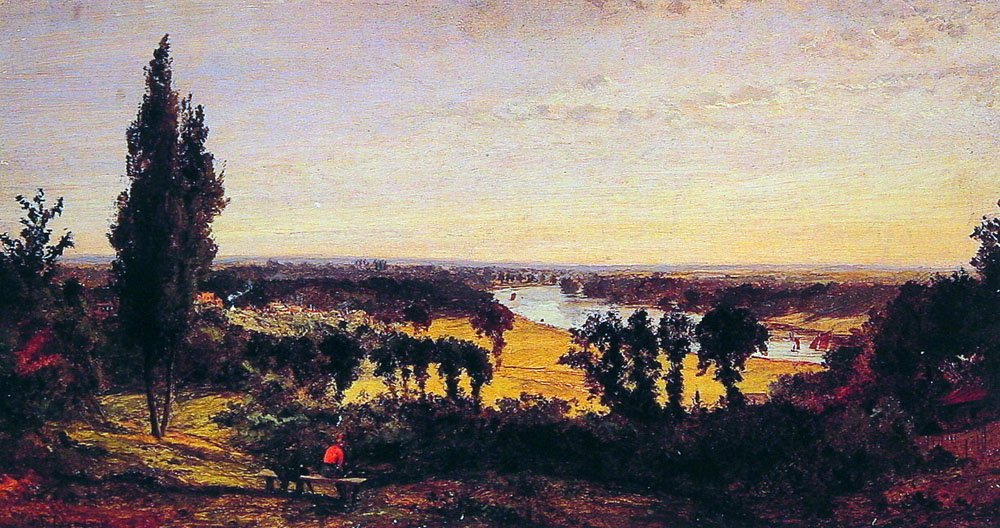 Richmond Hill and the Thames London | Jasper Francis Cropsey | Oil Painting