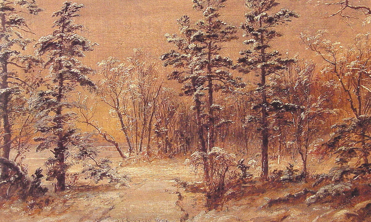Winter-Woodland | Jasper Francis Cropsey | Oil Painting
