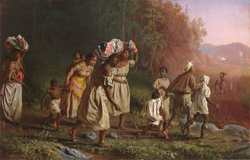 On to Liberty 1867 | Theodor Kaufmann | Oil Painting