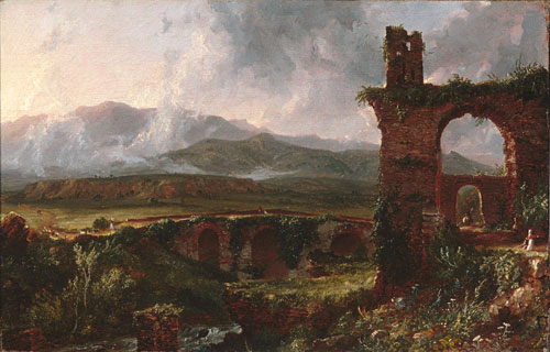 A View near Tivoli 1832 | Thomas Cole | Oil Painting