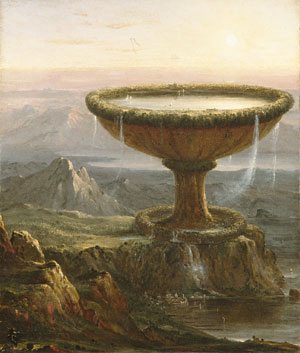 The Titan's Goblet 1833 | Thomas Cole | Oil Painting