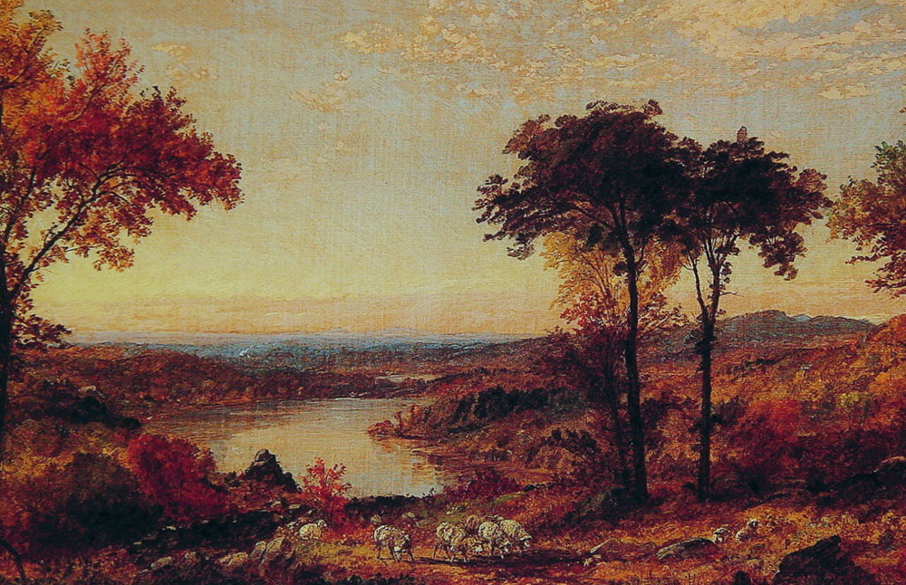 Wyoming Valley Pennsylvania | Jasper Francis Cropsey | Oil Painting