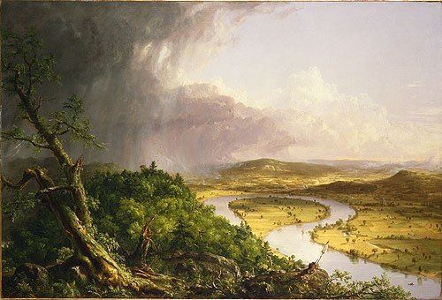View from Mount Holyoke Northampton Massachusetts after a Thunderstormeehe Oxbow 1836 | Thomas Cole | Oil Painting