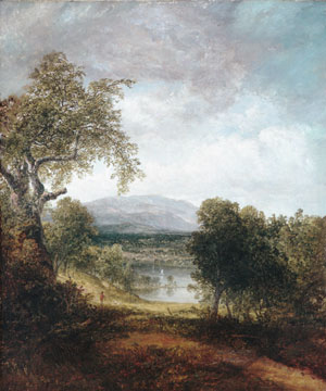 A River Glimpse 1843 | Thomas Doughty | Oil Painting