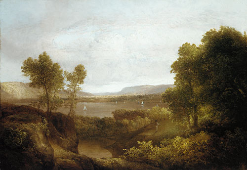 On the Hudson 1830 | Thomas Doughty | Oil Painting