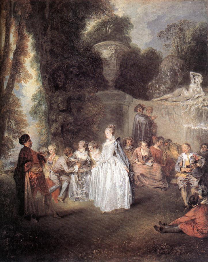 Fetes Venitiennes | Jean Antoine Watteau | Oil Painting