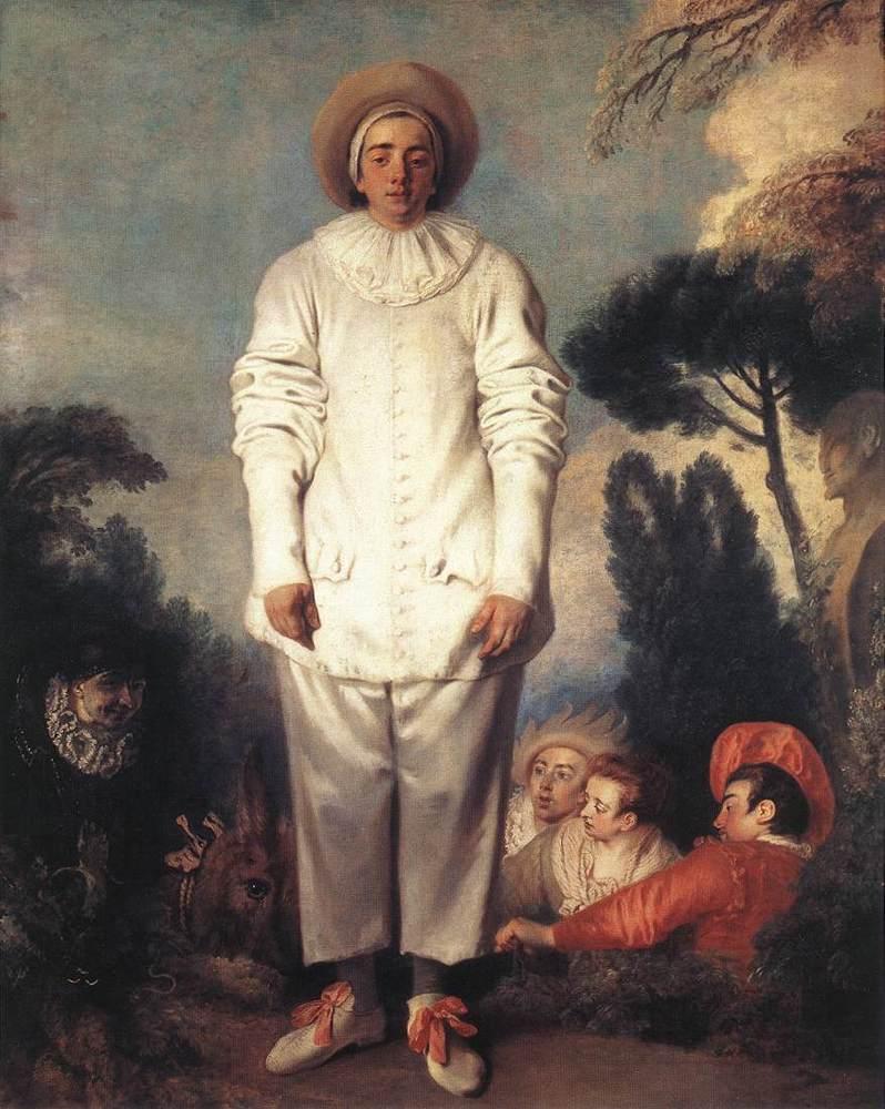 Gilles | Jean Antoine Watteau | Oil Painting