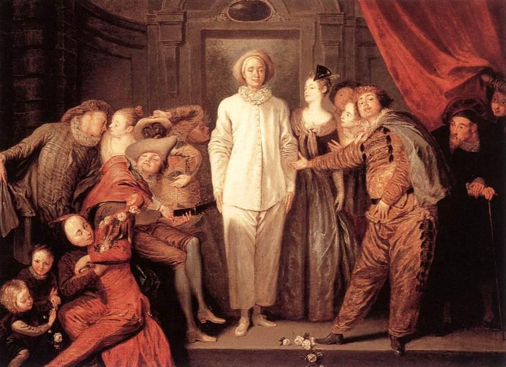Italian Comedians | Jean Antoine Watteau | Oil Painting