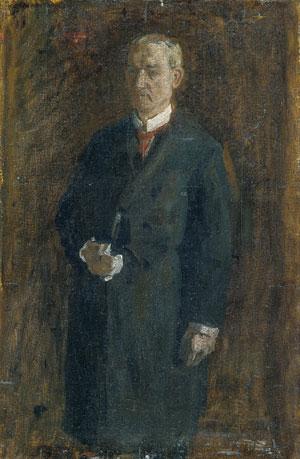 James MacAlister (Sketch) 1895 | Thomas Eakins | Oil Painting
