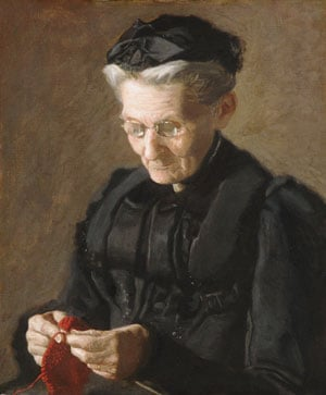 Mrs Mary Arthur 1900 | Thomas Eakins | Oil Painting