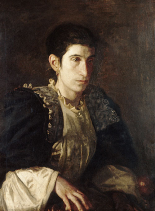 Signora Gomez d'Arza 1901 | Thomas Eakins | Oil Painting