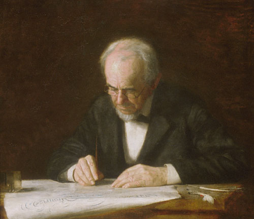The Writing Master 1882 | Thomas Eakins | Oil Painting