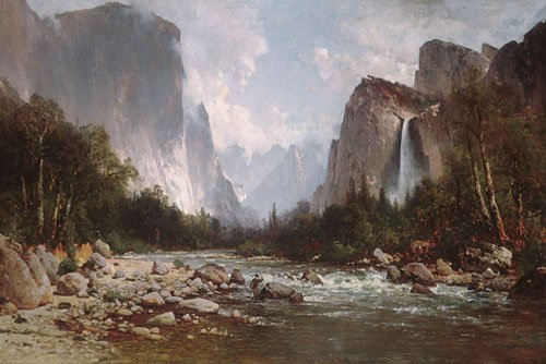 View of Yosemite Valley 1885 | Thomas Hill | Oil Painting