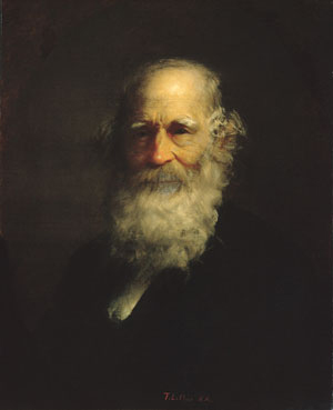 William Cullen Bryant 1876 | Thomas Le Clear | Oil Painting