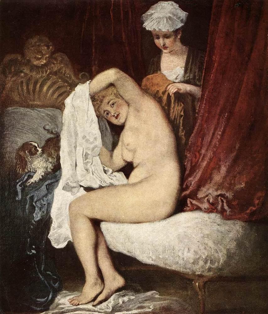 The Toilette | Jean Antoine Watteau | Oil Painting