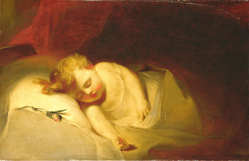 Child Asleep 1841 | Thomas Sully | Oil Painting