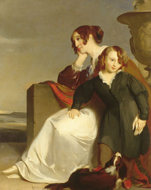 Mother and Son 1840 | Thomas Sully | Oil Painting