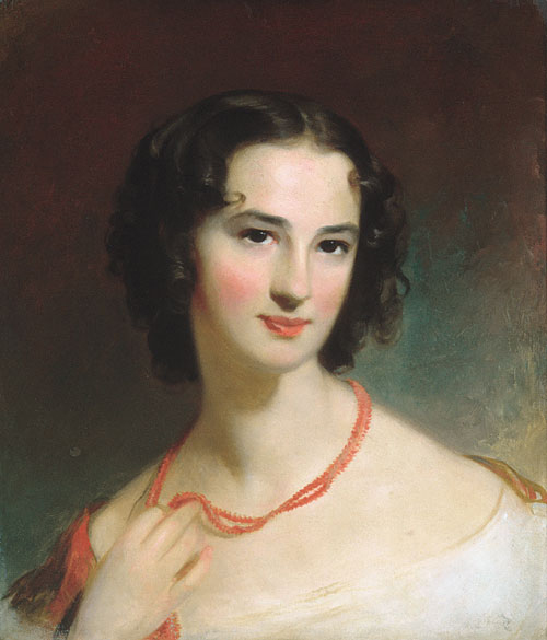 Mrs James Montgomery Jr 1845 | Thomas Sully | Oil Painting