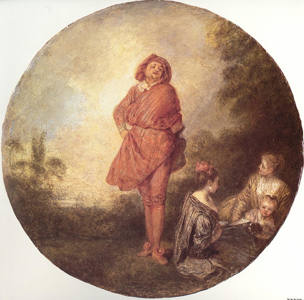 L-Orgueilleux | Jean Antoine Watteau | Oil Painting