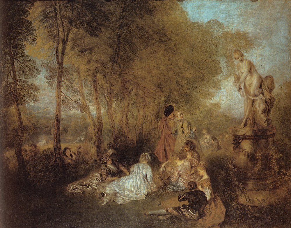 La Fete d-amour | Jean Antoine Watteau | Oil Painting