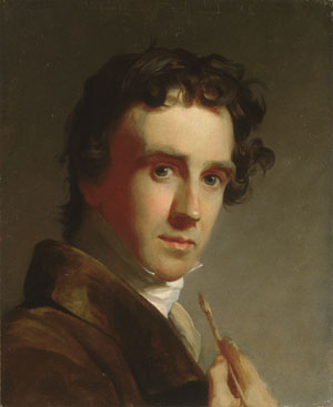 Portrait of the Artist 1821 | Thomas Sully | Oil Painting