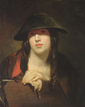 The Student 1839 | Thomas Sully | Oil Painting