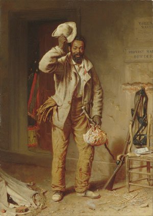 A Bit of War History The Contraband 1865 | Thomas Waterman Wood | Oil Painting
