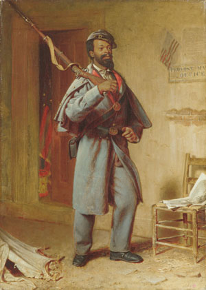 A Bit of War History The Recruit 1866 | Thomas Waterman Wood | Oil Painting