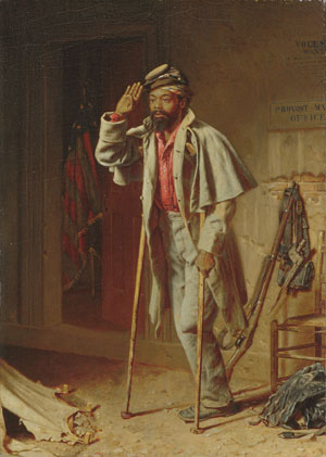 A Bit of War History The Veteran 1866 | Thomas Waterman Wood | Oil Painting