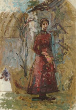 Annie Sargent Jewett 1905 | Unknown Artist | Oil Painting