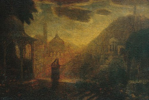 Nourmahal | Unknown artist Formerly Albert Pinkham Ryder | Oil Painting