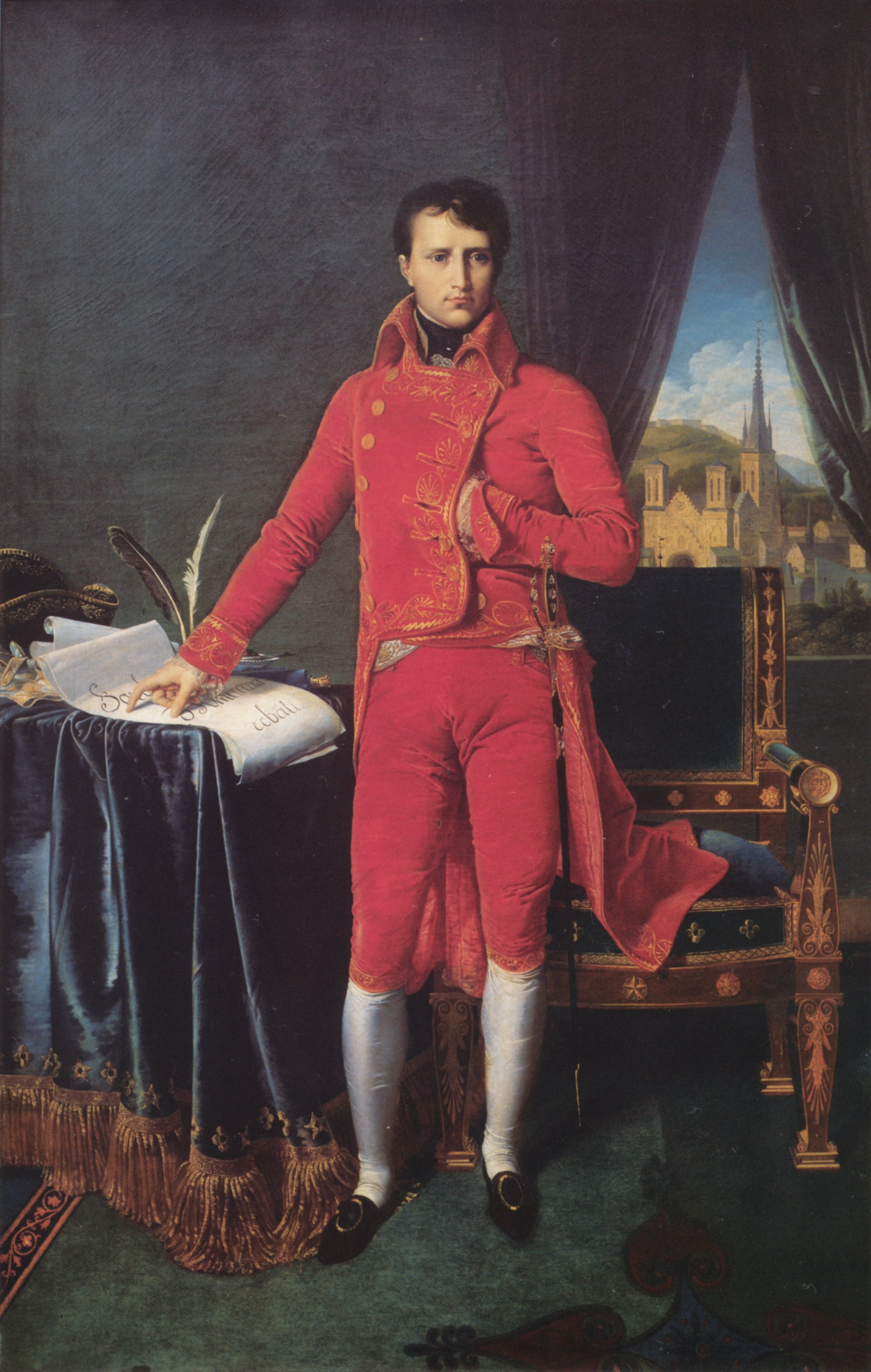 Bonaparte as First Consul | Jean Auguste Dominique Ingres | Oil Painting