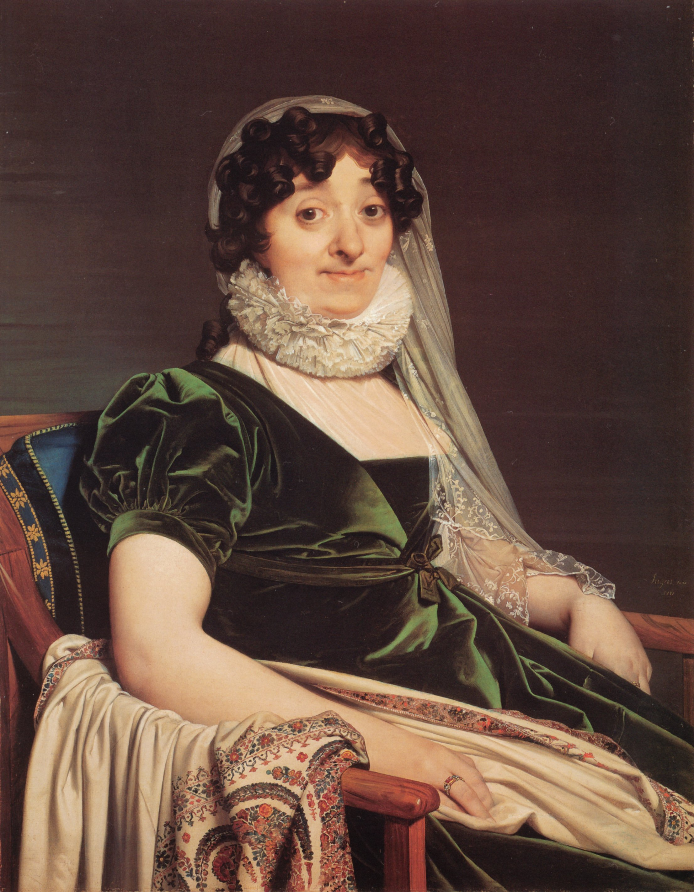 Comtess de Tournon | Jean Auguste Dominique Ingres | Oil Painting