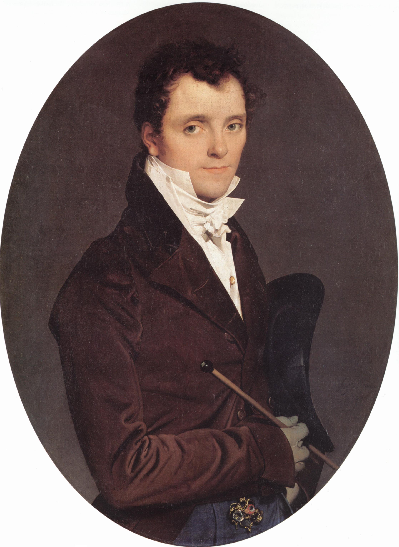 Edme Francois Joseph Bochet | Jean Auguste Dominique Ingres | Oil Painting