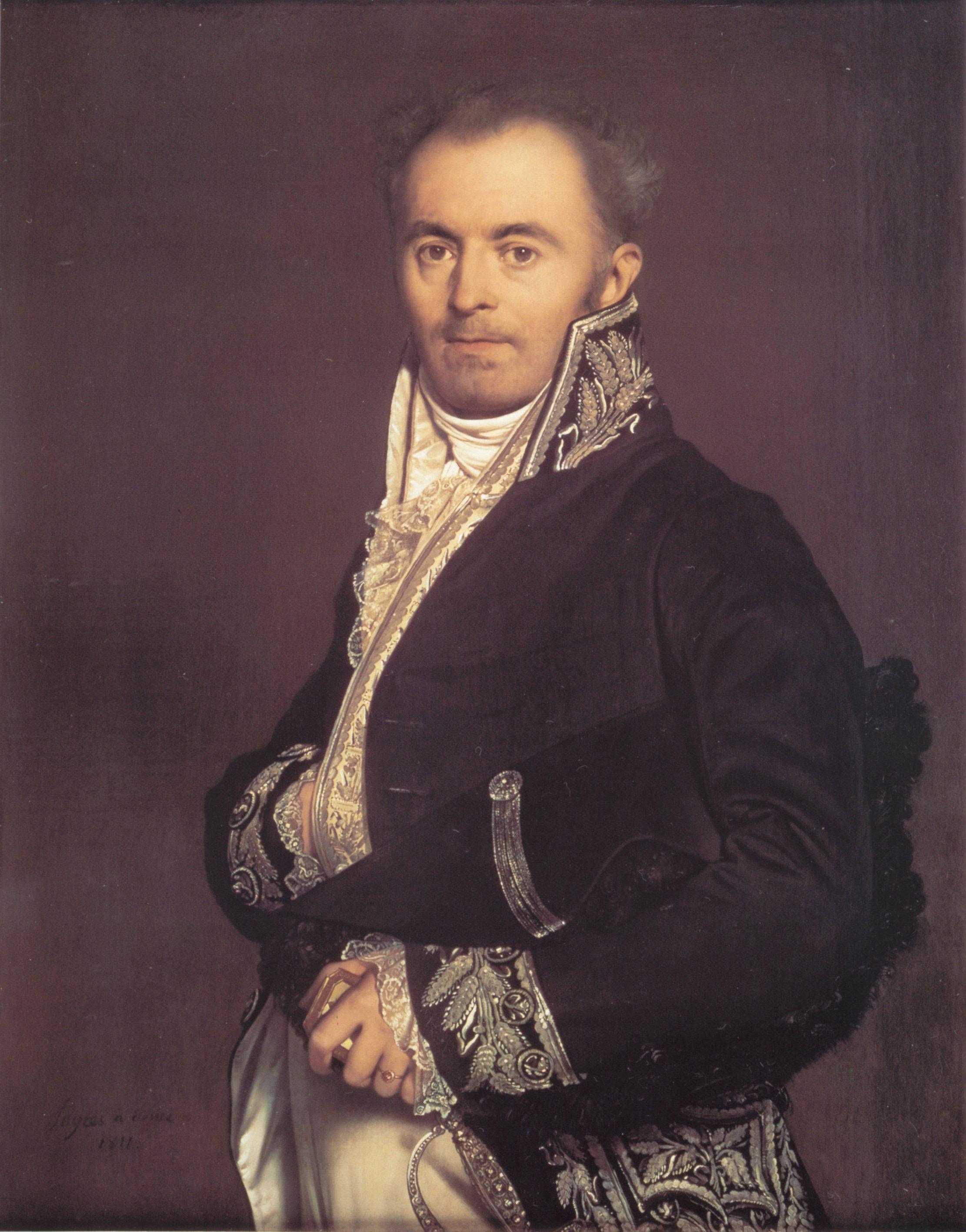 Hippolyte Francois Devillers | Jean Auguste Dominique Ingres | Oil Painting