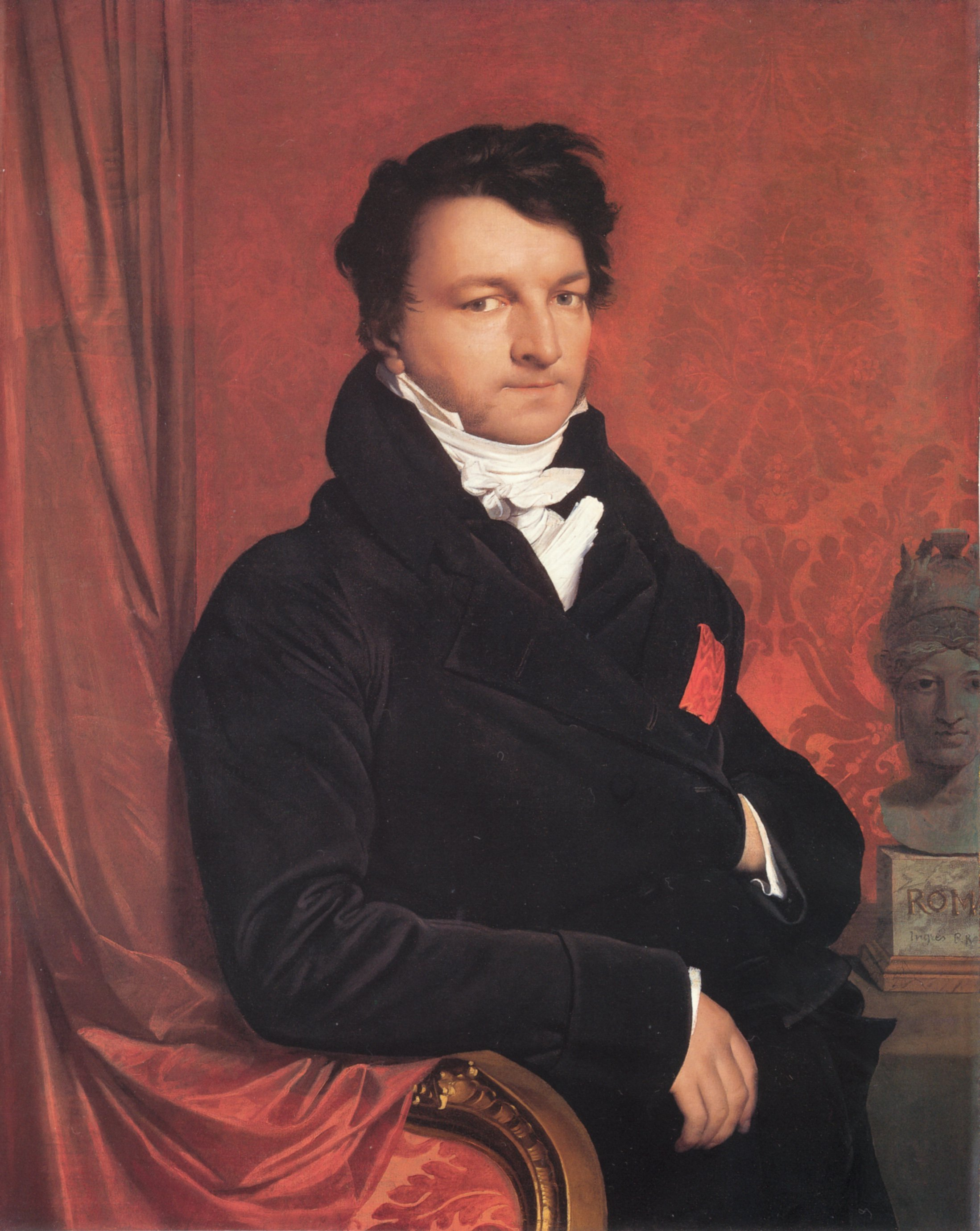 Jacques Marquet | Jean Auguste Dominique Ingres | Oil Painting