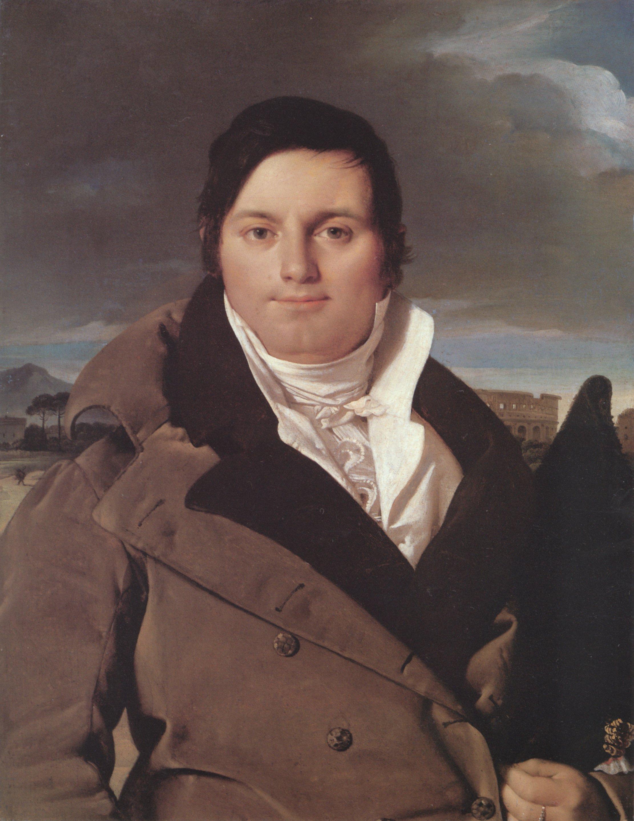 Joseph Antoine Moltedo | Jean Auguste Dominique Ingres | Oil Painting