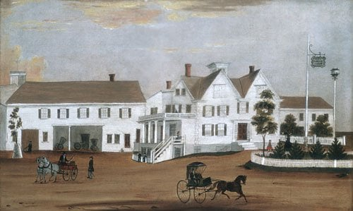 Hudson House 1882 | Unknown artist | Oil Painting