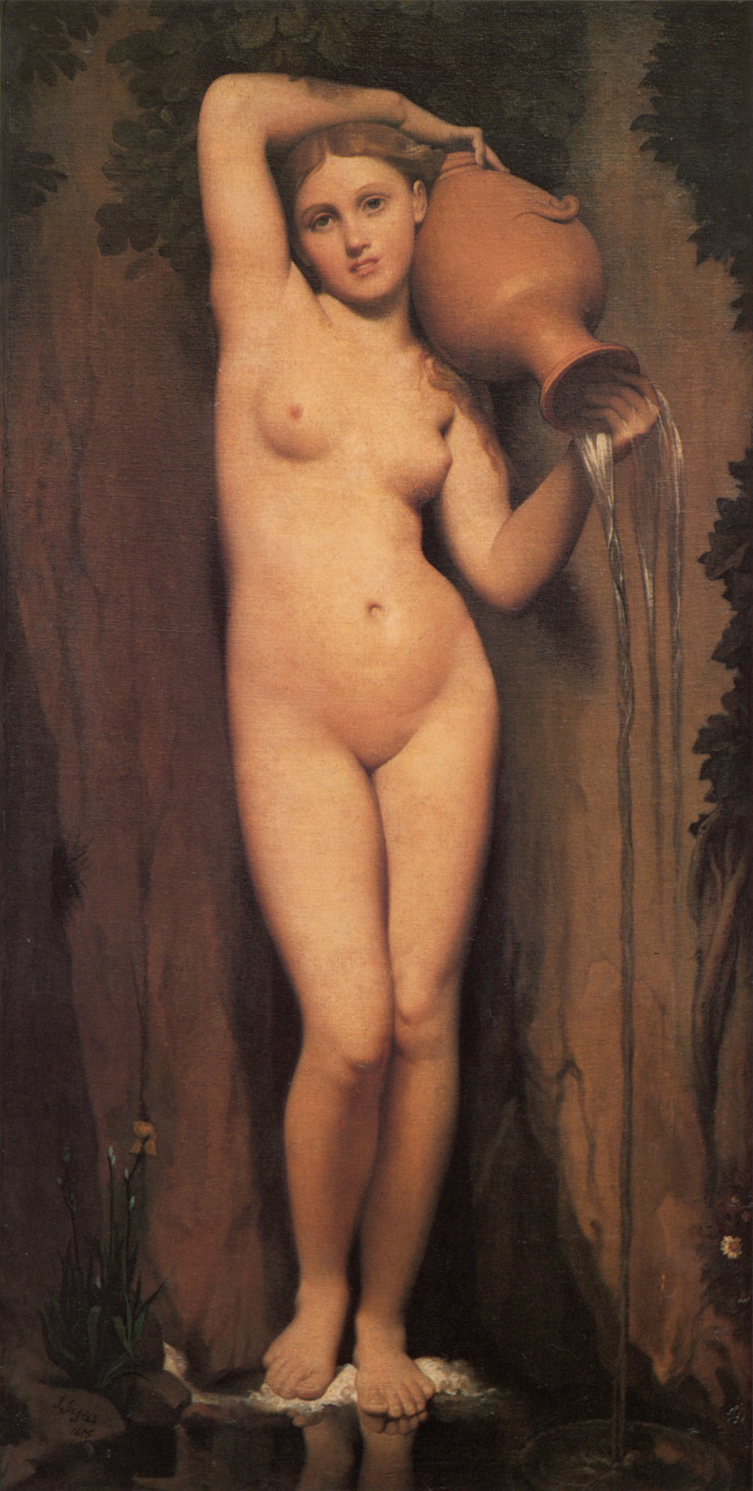 La Source | Jean Auguste Dominique Ingres | Oil Painting